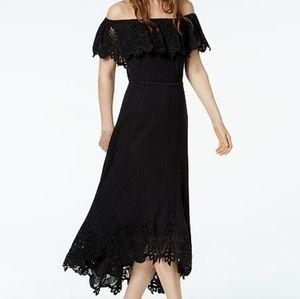 Rachel Zoe Cleo Cotton Off-The-Shoulder Maxi Dress